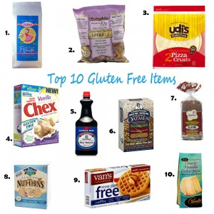 top 10 Gluten Free items