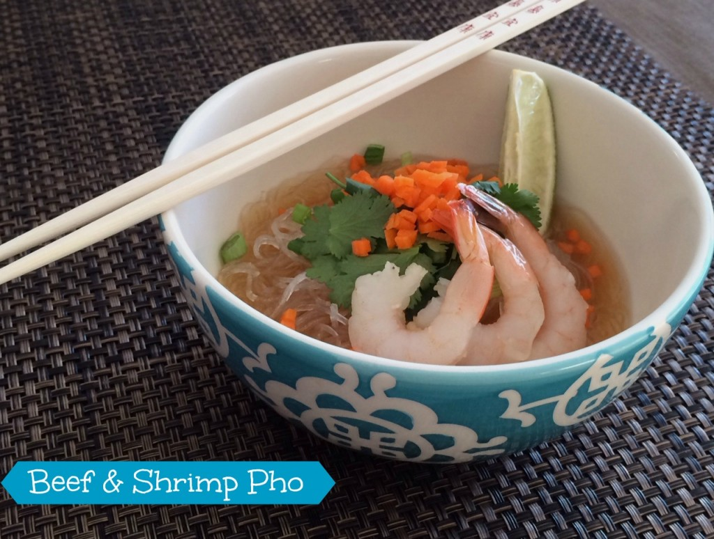 beef and shrimp pho