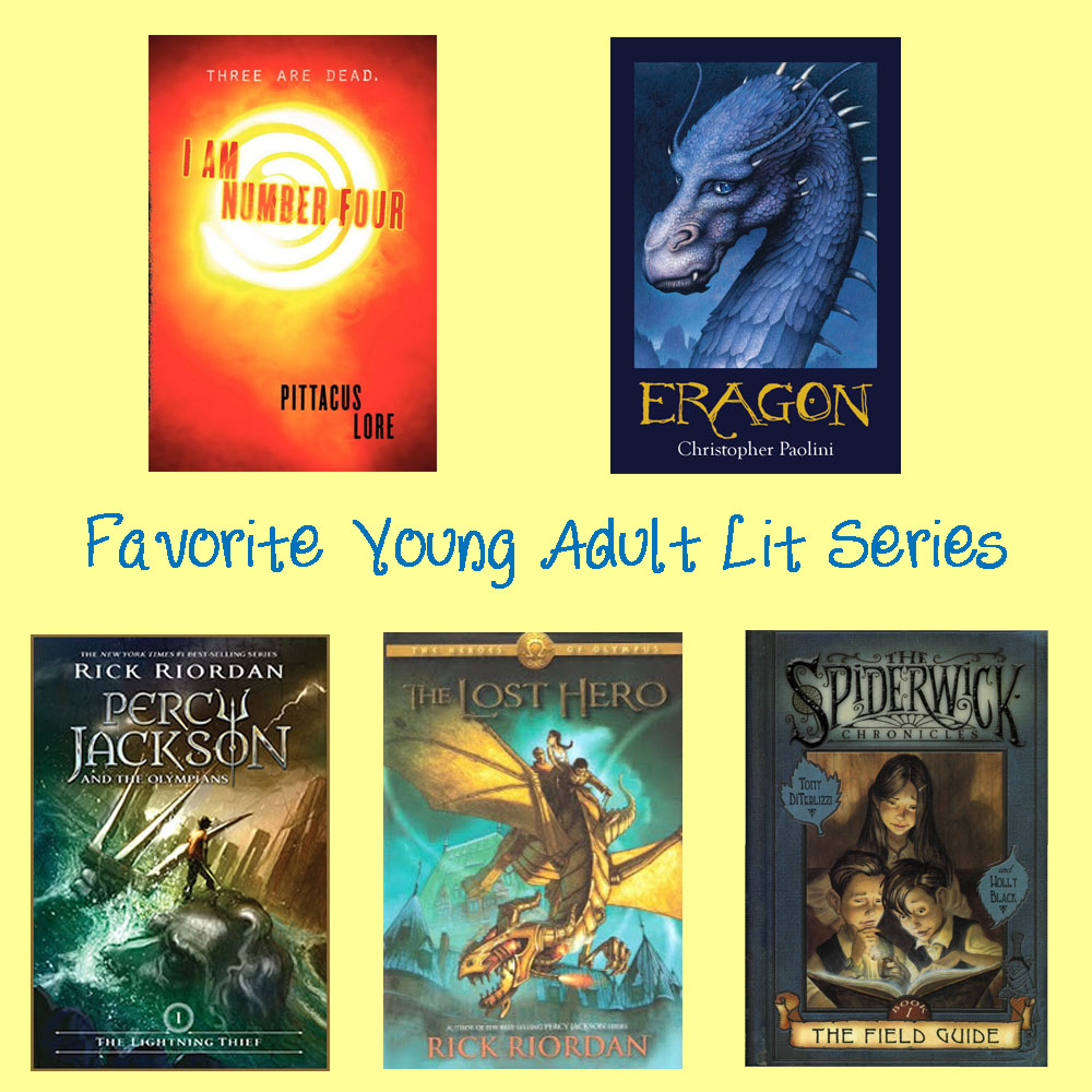 Favorite Young Adult Literature Series