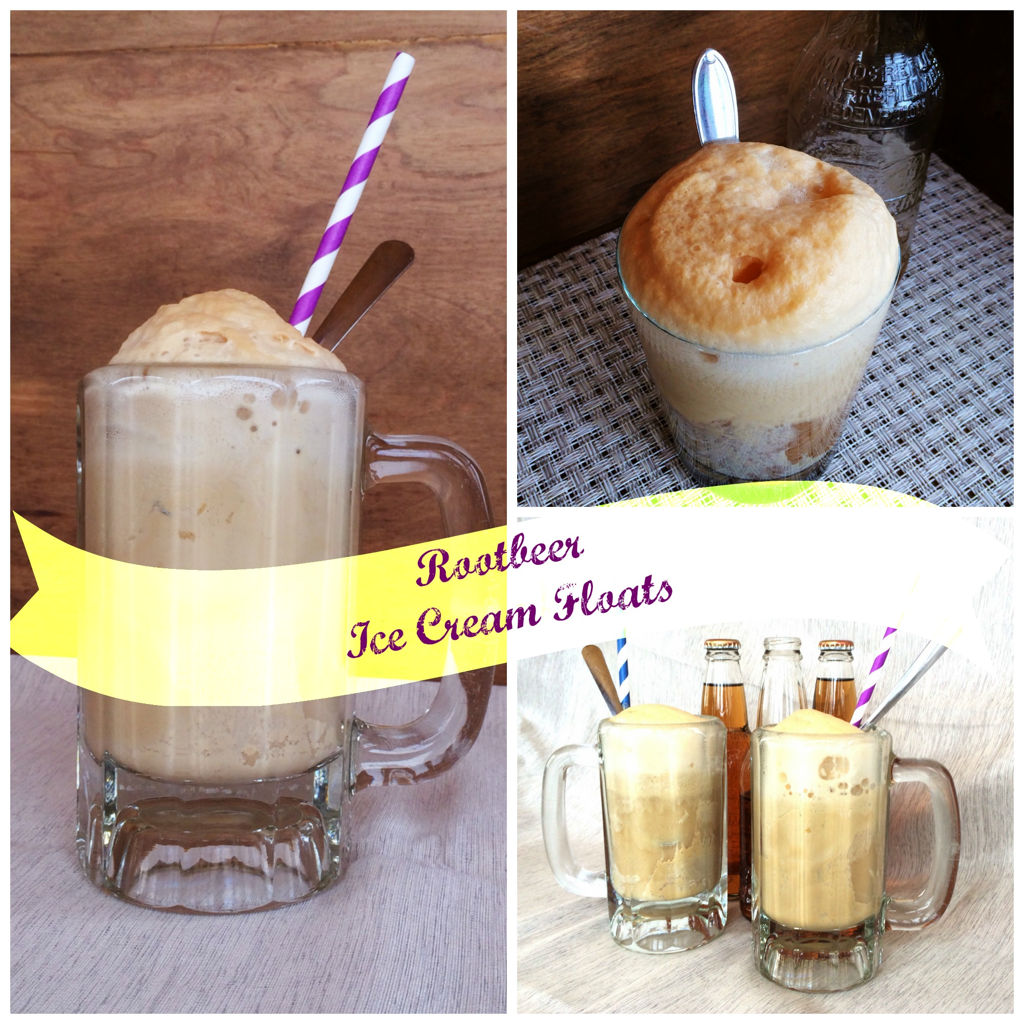 Root Beer Ice Cream Floats